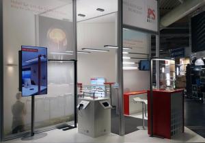 Beleuchtungslösungen für Arbeitsplätze auf der Messe Elektrotechnik