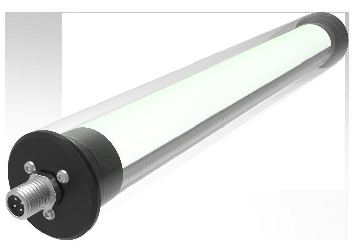 LED Rohrleuchte mit Abdeckung
