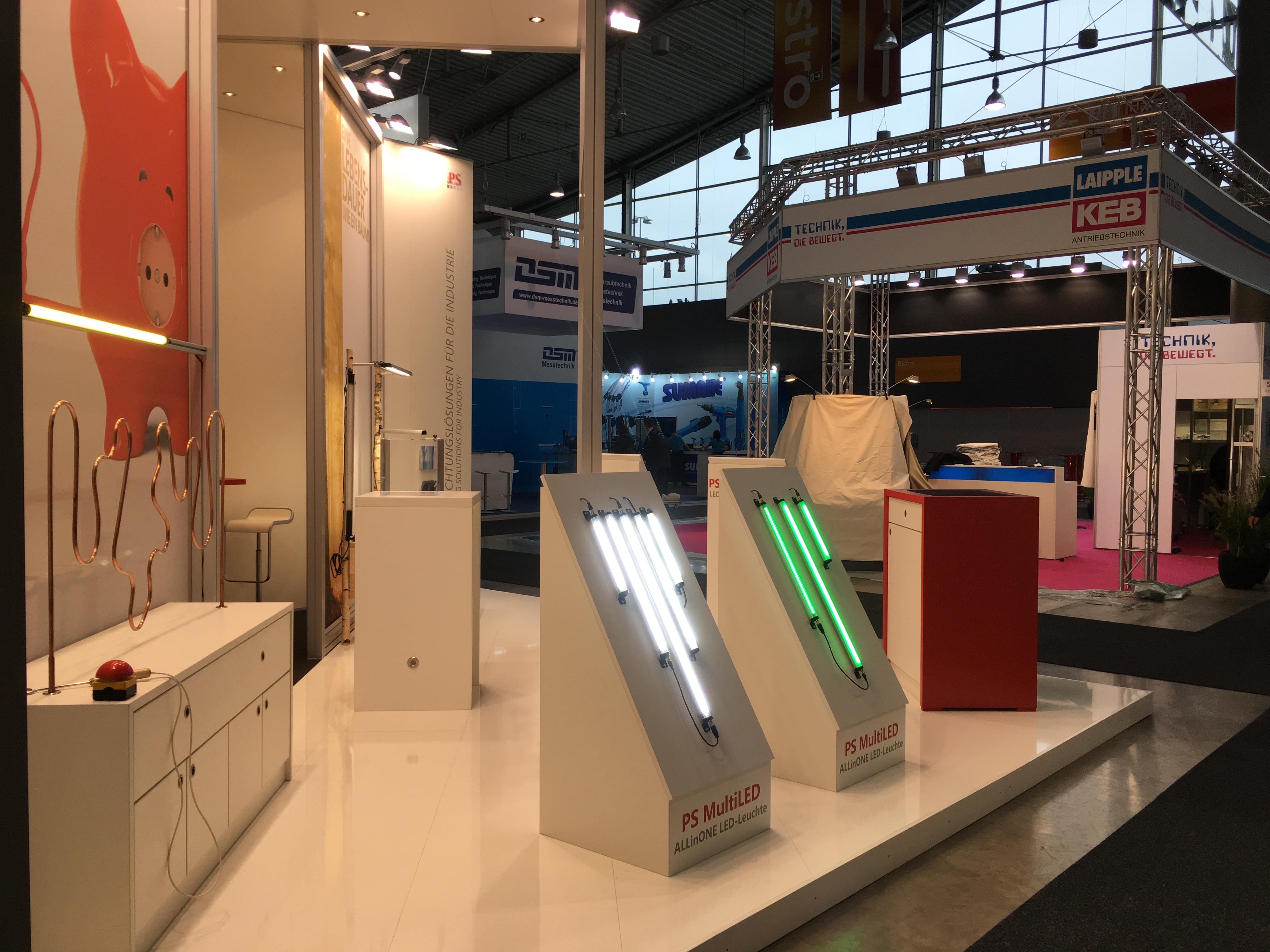 Pfeifer und Seibel GmbH zum ersten Mal auf derLogimat in Stuttgart