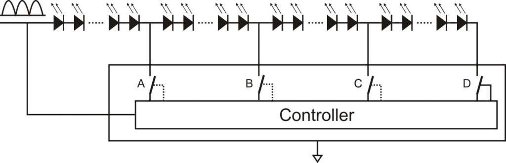 AC LED Module Steuerung