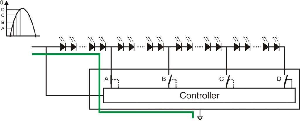 AC LED Module Schaltung
