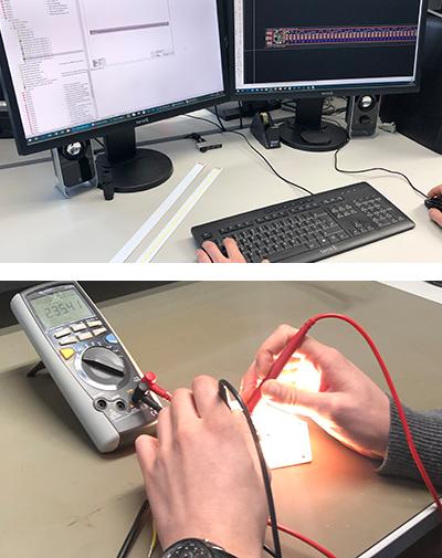 Elektronikentwicklung für LED Module