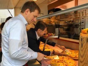 60 Jahre PS Leuchten Pizza