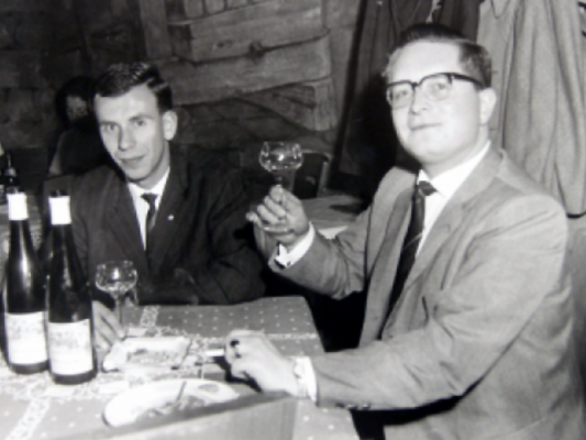 Kurt Seibel und Hubert Pfeifer