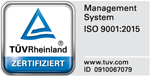 Zertifiziert nach ISO 9001